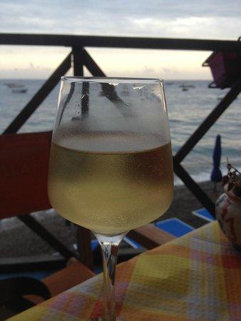 Spiaggia Bar Ristorante La Marinella: simple evening drink