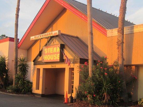 Backwoods Steakhouse: le resto
