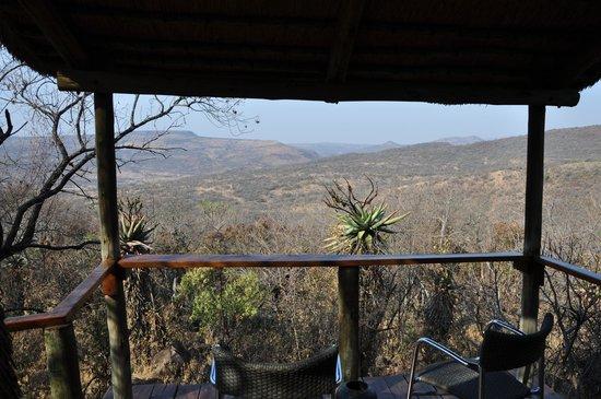 Isibindi Zulu Lodge: Aussicht vom Apparment