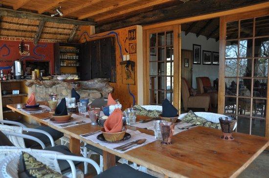 Isibindi Zulu Lodge: Frühstück