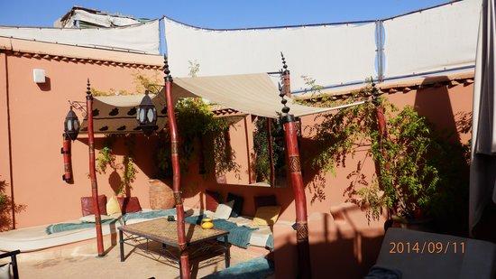 Riad Ain Marrakech: Rooftop terrace
