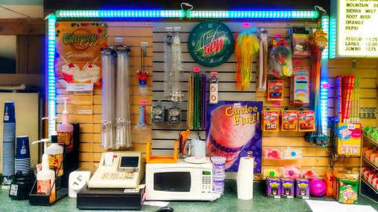 City Skate Center: Concessions and Toys