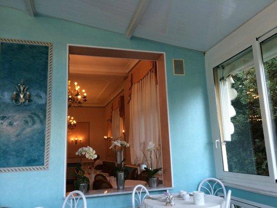 Villa Elisa: Salle du petit déjeuner