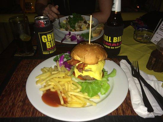 Grill Bill : Bacon Burger Big