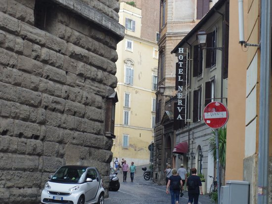 Nerva Boutique Hotel : View from the street