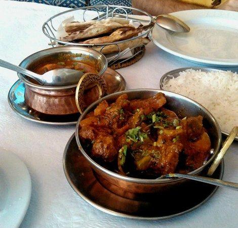Indian Tandoori: Pratos principais