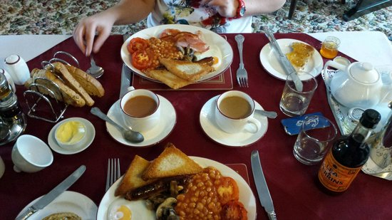 Potters Mooring Hotel: Breakfast