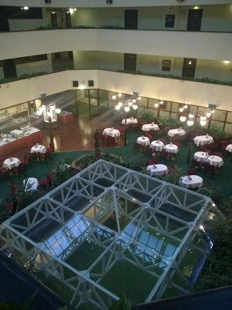 Danubius Health Spa Resort Sarvar: Aussicht auf 36C Pool