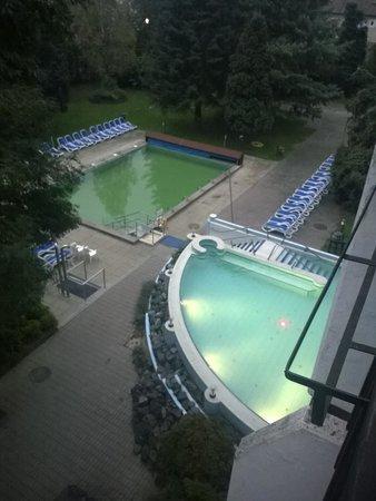 Danubius Health Spa Resort Sarvar: out door Pool