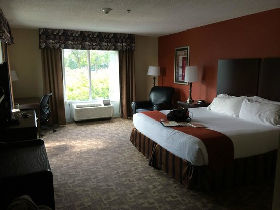Holiday Inn Express & Suites Lexington Dtwn Area-Keenland: King Room High Floor