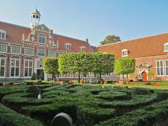 Frans Hals museum courtyard