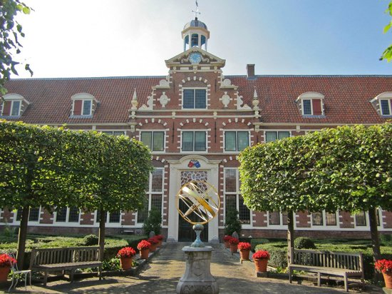 Frans Hals Museum central courtyard