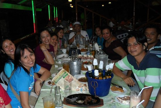 Anahaw Island View Resort: Dine and Drink
