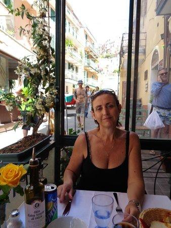 La Scogliera: muy agradable terracita en La Scogliera.