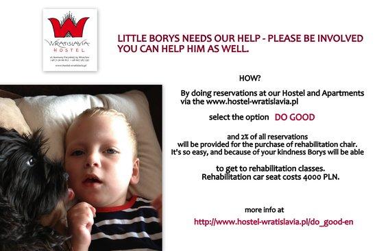 Hostel Wratislavia : DO GOOD Charity Offer