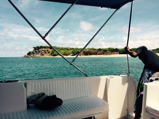 Oyster Pond, Isla de San Martín: Getting ready to go turtle watching