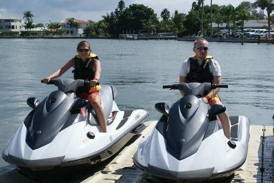 H2O Jet Ski Rentals & Tours of Clearwater Beach: Ready to go