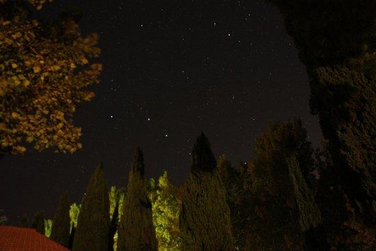 Residence Ghiacci Vecchi: Il cielo la sera!