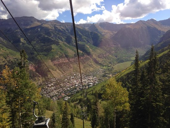 Lumiere Telluride: Quite ride to the other side.