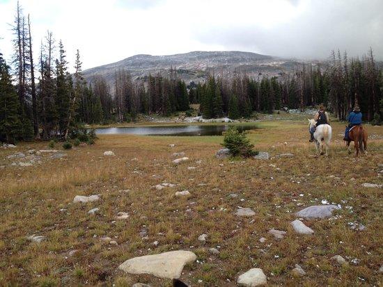 Medicine Bow Lodge: Medicine Bow Mts - all day ride