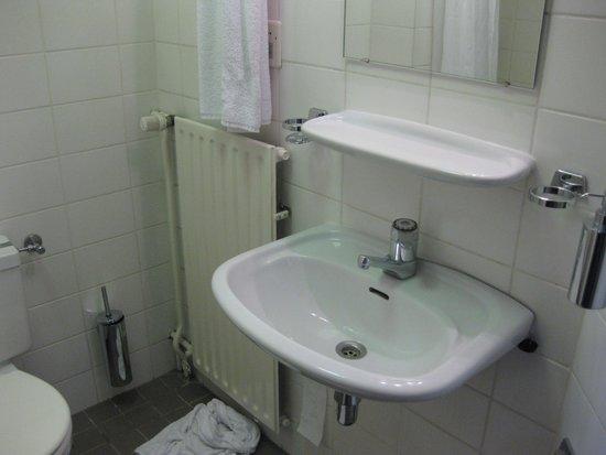 Fletcher Hotel-Restaurant Prinsen: badkamertje