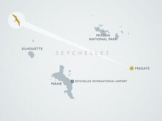 Fregate Island Private Map