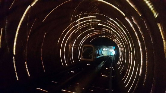 Bund Sightseeing Tunnel: sightseeing tunnel!