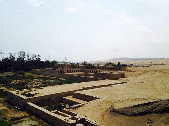 Pachacamac: Templo de la luna