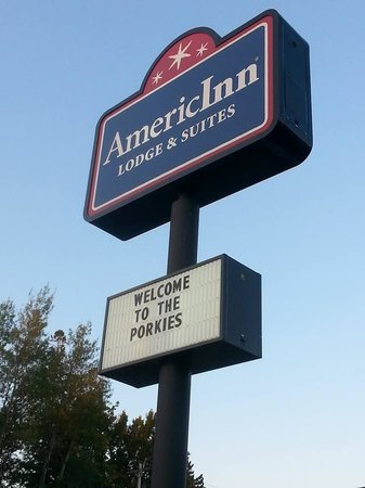 AmericInn Lodge & Suites Silver City: Welcome to the Porkies!