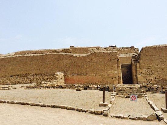 Pachacamac: Templo del Sol