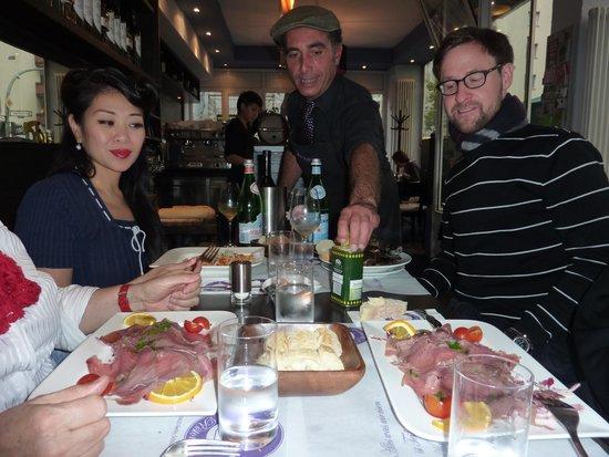 Ristorante Caffe Bocconi: Vorspeise Thunfisch