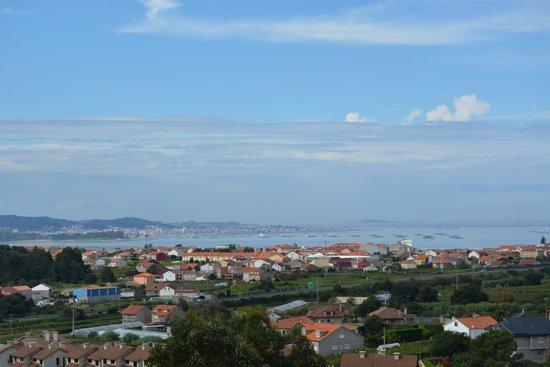 Bodegas Martin Codax: las vistas desde la terraza