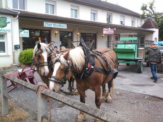Beaurepaire-en-Bresse, France : une tres bonne ambiance