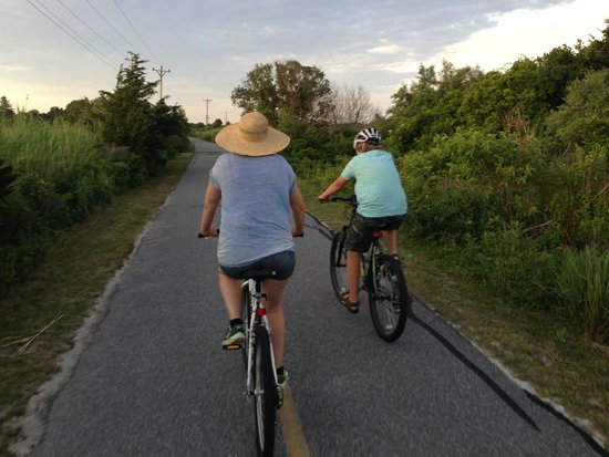 Cape Cod Campresort & Cabins : Sunshine Bike Trail
