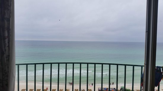 Days Inn Panama City Beach/Ocean Front: View from window of room