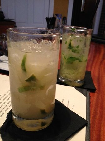 Cava: Cuiprehana and Pineapple Mojito