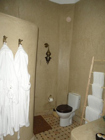 Riad Al-Bushra : Salle de bain