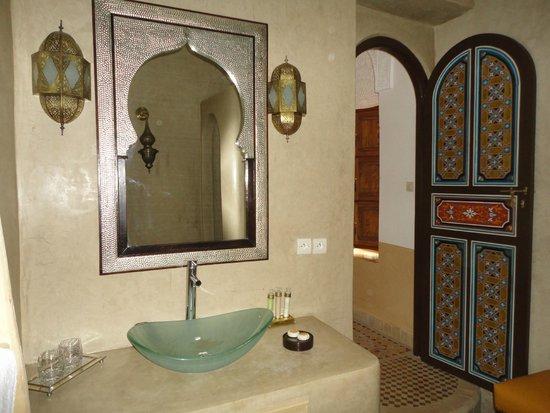 Riad Al-Bushra : Dans la chambre...