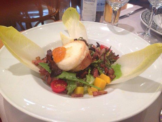 Hotel Les Closes: Ensalada del menú!