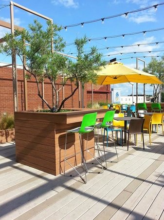 Rooftop Seating Picture Of Packard S New American Kitchen
