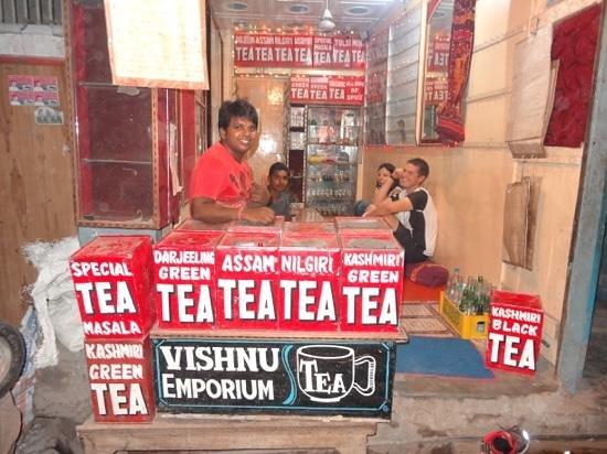 Vishnu Tea Emporium: merci Vishnu