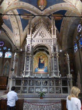 Church and Museum of Orsanmichele: La Virgen de las Gracias.