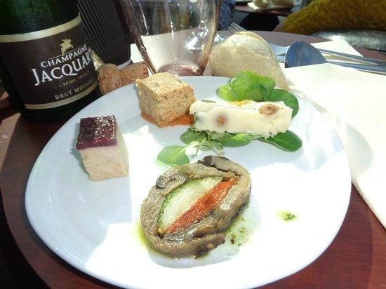 Paris en Scene - Diner croisiere: Amuses bouches
