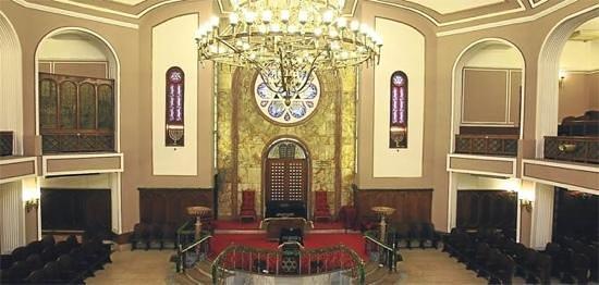 Nice synagoge - Picture of Neve Shalom Synagogue, Istanbul - TripAdvisor