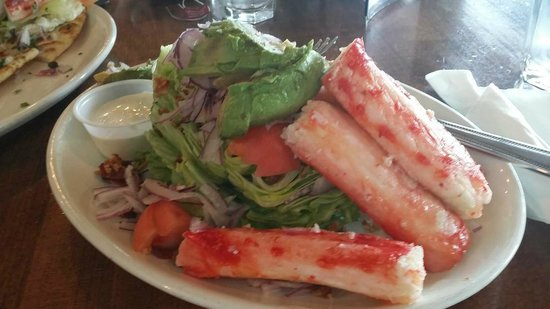 Hangar On The Wharf: Wedge Salad with King Crab