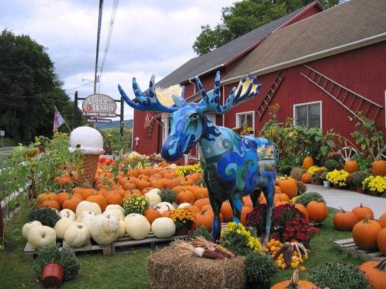 The Apple Barn and Country Bake Shop : The Apple Barn, Bennington, VT Sept. 2014