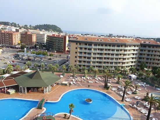 Aparthotel Costa Encantada: View from room 603