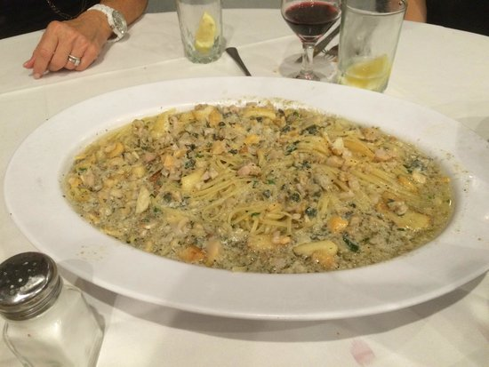 Ozone Park, NY: Signature Dish - Linguini and Clams
