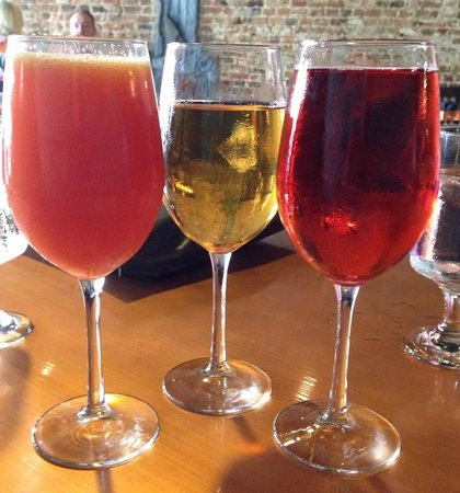 Perkeo Wine Bistro: Various Mimosa Choices