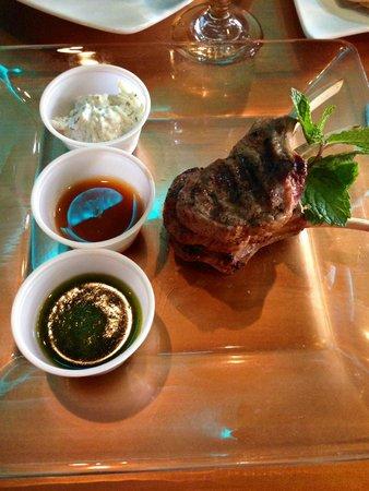 Perkeo Wine Bistro: Lamb Chops